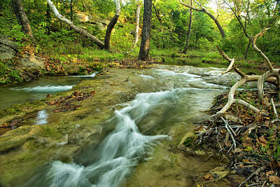 Photograph - Country Creek by Katherine Worley