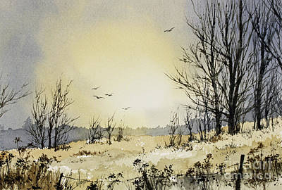 Art Print featuring the painting Country Dawn by James Williamson