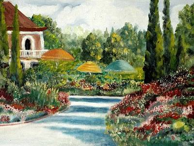 Painting - Country Estate by Charles Ray