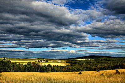 Art Print featuring the photograph Country Farm by Gary Smith