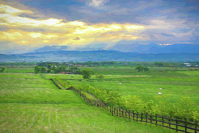 Photograph - Country Fence To The Mountains by James BO Insogna