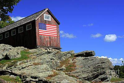Photograph - Country Flag by Karol Livote