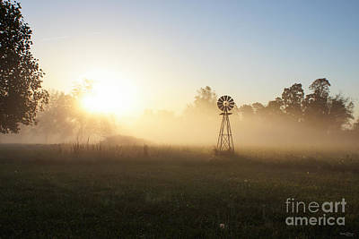 Photograph - Country Foggy Morning by Jennifer White