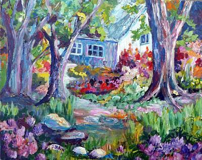 Country Garden Art Print by Saga Sabin