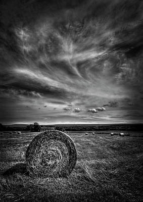 Hay Bale Photograph - Country High by Evelina Kremsdorf