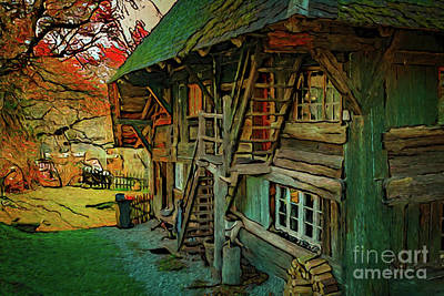 Photograph - Country Home 18118 by Ray Shrewsberry