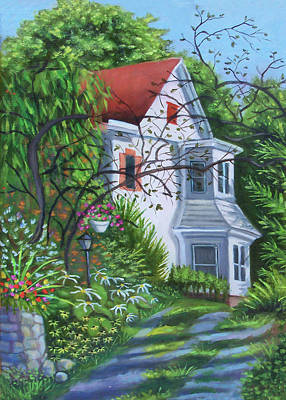 Painting - Country Home by Madeline Lovallo