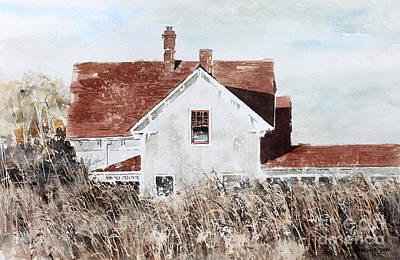 Painting - Country Home by Monte Toon