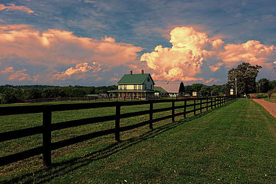 Photograph - Country Home by Ronda Ryan