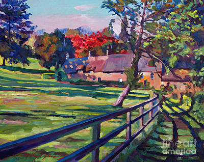 Country House Art Print by David Lloyd Glover