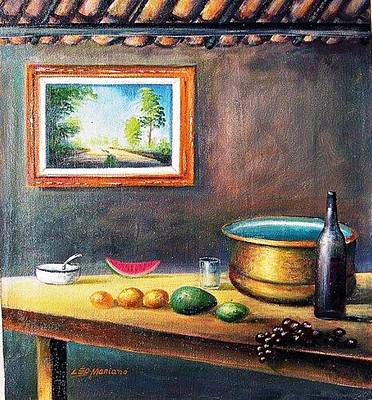 Country House Art Print by Leomariano artist BRASIL