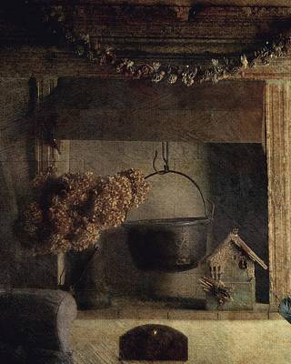 Photograph - Country House by Vittorio Chiampan