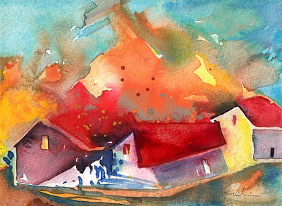 Painting - Country Houses In France by Miki De Goodaboom