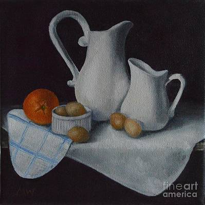 Painting - Country Kitchen  by Michelle Welles
