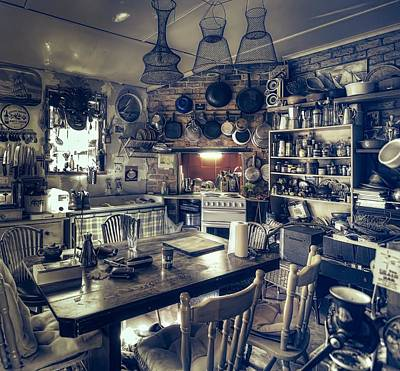 Photograph - Cosy Country Kitchen by Wayne Sherriff