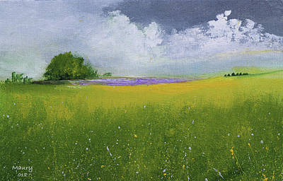 Painting - Country Landscape by Alicia Maury