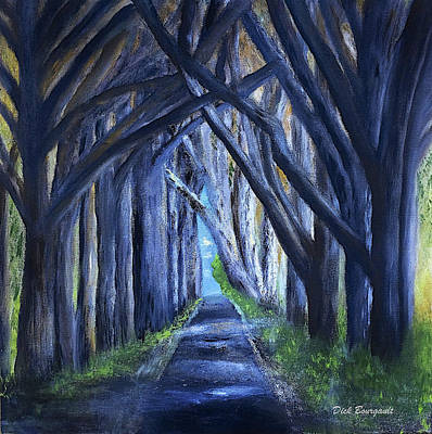 Country Lane Art Print