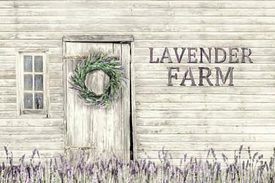 Photograph - Country Lavender Farm by Lori Deiter