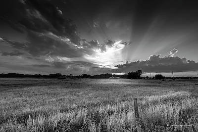 Country Life Photograph - Country Life B/w by Marvin Spates