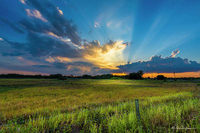 Evening Scenes Photograph - Country Life by Marvin Spates