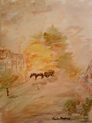 Painting - Country Life by Paula Maybery