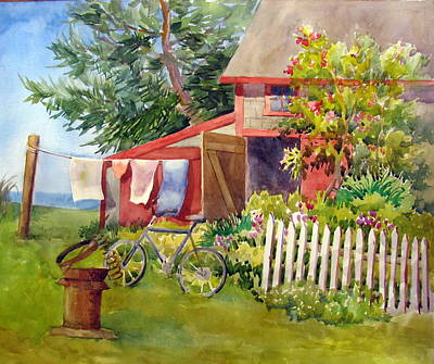 Painting - Country Life by Sharon Lehman