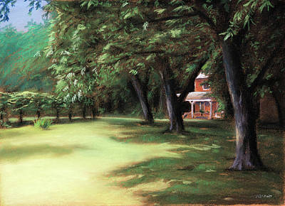 Beautiful Scenery Painting - Country Livin by Christopher Reid