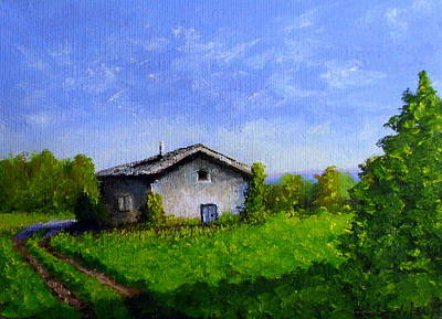 Painting - Country Living by Fred Wilson