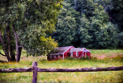 Country Living Art Print by Tricia Marchlik