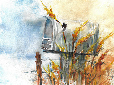 Painting - Country Mailbox Rural Free Delivery by Jacki Kellum