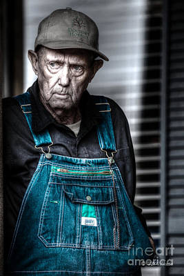 Photograph - Country Man by D Wallace