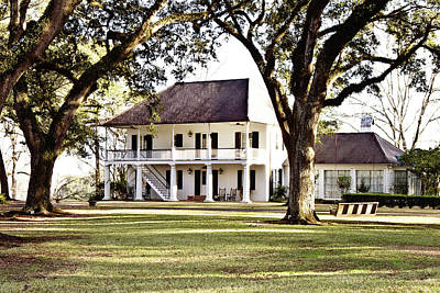 South Louisiana Photograph - Country Manor by Scott Pellegrin