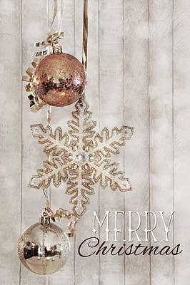 Photograph - Country Merry Christmas by Lori Deiter
