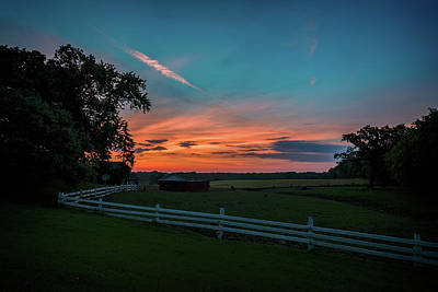 Photograph - Country Morning by CJ Schmit