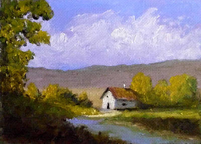 Painting - Country Morning by Fred Wilson