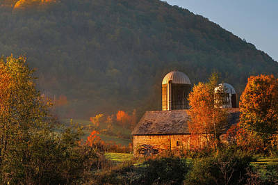 Bennington Photograph - Country Mornings - West Pawlet Vermont by Thomas Schoeller