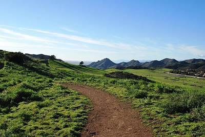 Photograph - Country Mountain Path by Matt Harang