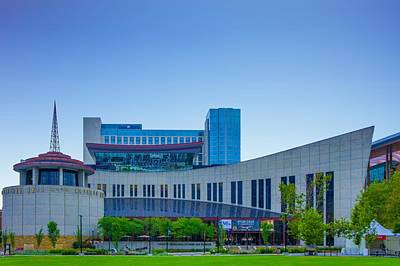 Country Music Hall Of Fame And Museum Photograph - Country Music Hall Of Fame And Museum by Art Spectrum