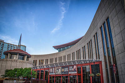 Country Music Hall Of Fame And Museum Photograph - Country Music Hall Of Fame by Mike Burgquist