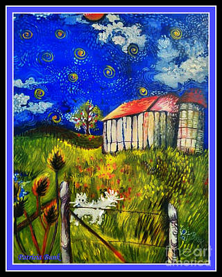 Country Dance Mixed Media - Country Music In The Sky by Patricia Bunk