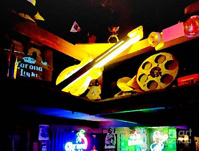 Photograph - Country Neon by Jenny Revitz Soper
