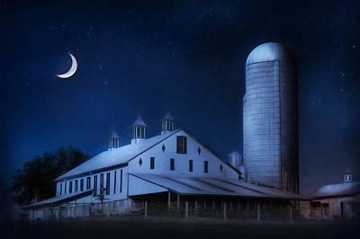 Country Night Art Print by Lori Deiter