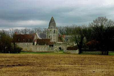 Photograph - Country Palace In France by Menachem Ganon