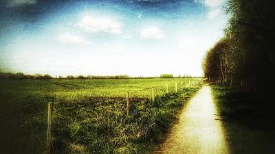 Photograph - Country Path by Isabella F Abbie Shores