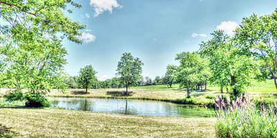 Photograph - Country Pond by Leslie Montgomery