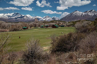 Photograph - Country Ranches  by Jaquita Watters