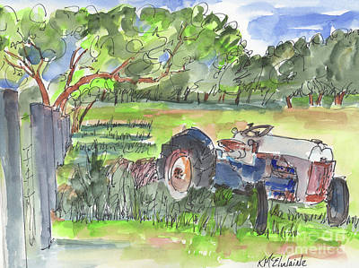 Painting - Country Road Art by Kathleen McElwaine