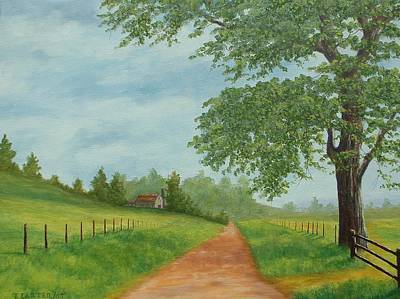Carter.oil Painting - Country Road Carter by John Carter