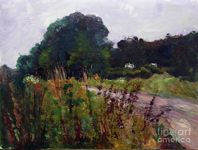 Painting - Country Road by Donna Walsh