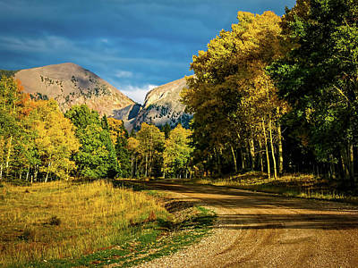 Photograph - Country Road by Elijah Knight